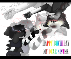 G : Happy Birthday Niwie-Sama! by StupidUsagiSan