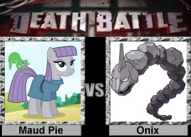 Death Battle: Maud vs Onix by porygon2z