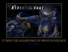 Toonami Motivational Poster by Dbgtinfinite