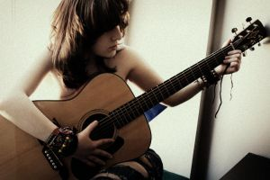 guitar by CarianneCouture