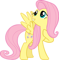 Fluttershy Vector #1 by EbonTopaz