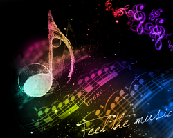 feel the music by JuliaGeisler
