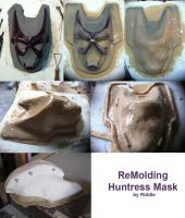 Huntress Mask - Molding by Riddle1