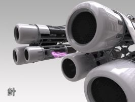 Pod Racer - closeup by bongoboy
