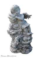 Angel Statue PRECUT PNG Stock by TrisStock