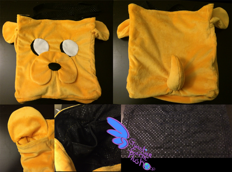 Jake t/ Dog Tote Bag Adventure Time Christmas Gift by GuardianEarthPlush
