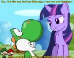 Come on Yoshi you know you love me final by Airman-EXE