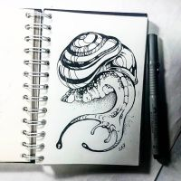 Instaart - Snail by Candra