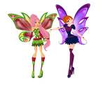 Look at our new beautiful wings! by R-Scarlett