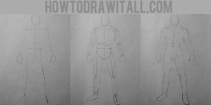 HOW TO DRAW MANGA: Muscular Body by HowToDrawItAll