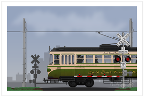 Old style streetcar / tram by MadDogGrapix.com by deviantART-dog