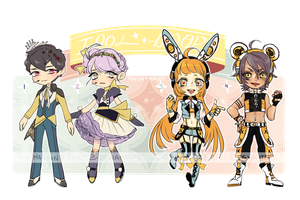 IDOL ADOPTS (LINK TO AUCTION IN DESC) by mnyn