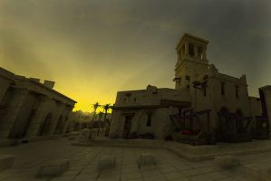 Carthaginian sunset by LordGood