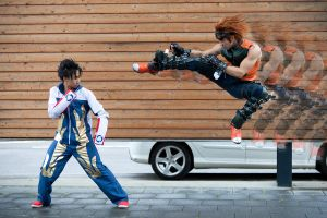 Tekken: Flying Kick by Heavy0