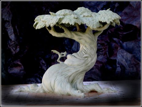 Tree Maquette finished by RandyHand