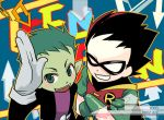 Teen Titans Go Robin and BB by SERAPHLEI