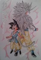 Goku Dragon Ball AF (Young Jijii) by Renow54