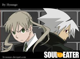 Maka And Soul Eater by Hyuuugo