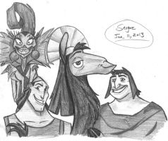 Emperor's New Groove by sergaz