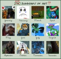 2011 Art Summary by Songficcer