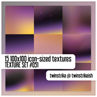Texture Set 051 by twinstrikeish