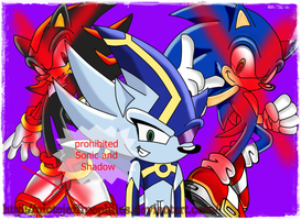 nazo prohibited sonic and shadow by NicteJeffMephiles