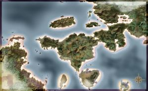 Blank fantasy map 09 02 by Sedeslav