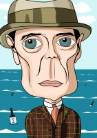Steve Buscemi (Boardwalk Empire) by GB-ART3