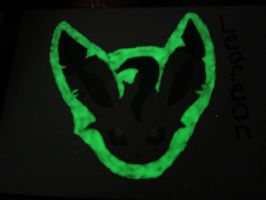 Leafeon Painting in the Dark by Scott04069418