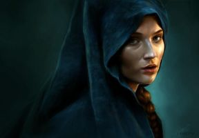 Sansa Stark - A Memorable Shade by Oephy