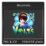 Micro Volts Dock Icon by caesar13