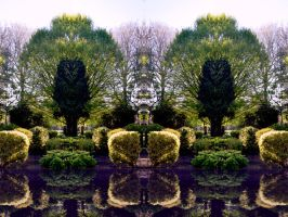 The Non Existent Water Gardens Of Park Hill by aegiandyad