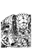 Predator fragcomic DHInking by DHinking