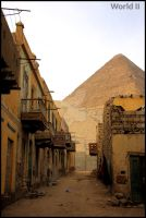 Next door to the great pyramid by WorldII