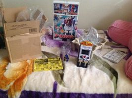 I got Hyper Datas toy shipped from Japan by Magic-Kristina-KW