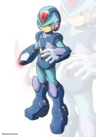 Megaman X (UMX version II) by ultimatemaverickx