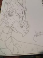 Kalecgos Dragon by Pokemonfreak01