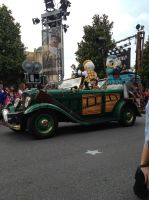 Car Show: Donald and Daisy Duck by ChloeRhiannonX