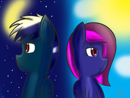 Request: Two sides of time by gwarrior456