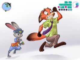 GTA : Zootopia by chochi