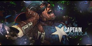 Captain America by rrrb50