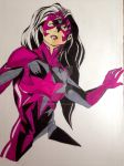 Star Sapphire in color by carriekaty
