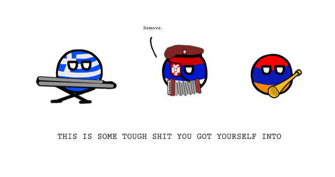 Polandball - Tough Kebab-Remover Shit by AdmiralMichalis
