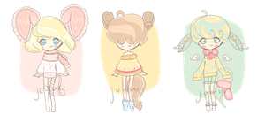 FREE ADOPTS RAFFLE/GIVEAWAY! {closed} by jouuri