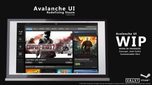 Avalanche UI Steam Skin *WIP* by eL-Falso