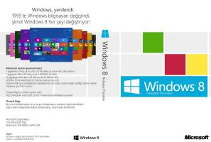 Windows 8 Release Preview DVD Cover (tr-TR) by Misaki2009