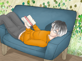 Break Time with Haise! by Poolgasm