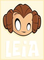 Heads Up Leia by HeadsUpStudios