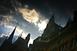 London St Pancras by drouch