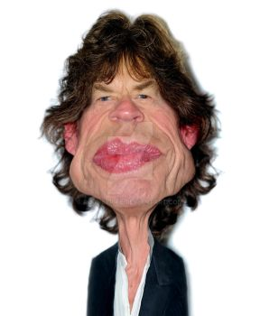 Mick Jagger The Rolling Stones by RodneyPike